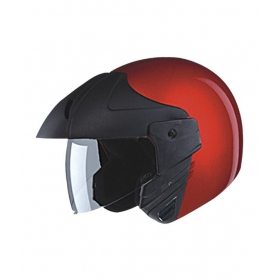 Studds - Open Face Helmet - Ninja Concept (cherry Red) [extra Large - 60 Cms]