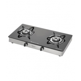 Bajaj 2 Burner Cgx-ss Glass Gas Cooktop