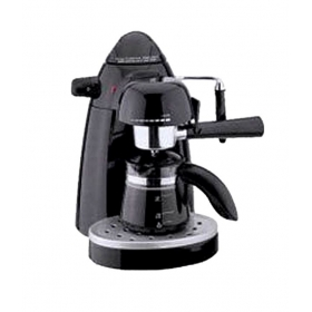 Skyline 750 Ml Espresso Coffee Maker Black