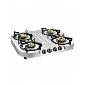 Sunflame Optra 4b Stainless Steel Body Cooktop