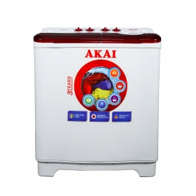 Akai 7.5 Kg Aksw-7501rd Semi Automatic Top Load Washing Machine