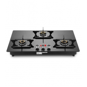 Pigeon Super Efficient Indian Hob 3 Burner Auto Ignition