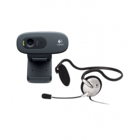 C270h Hd Webcam (with Headphone)