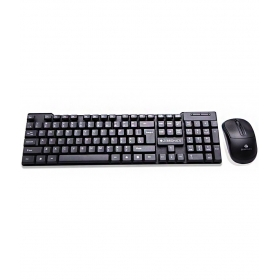 Zebronics Judwaa-543 Usb Wired Keyboard Mouse Combo With Uv Coated Keys (usb-black)