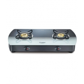 Prestige Premia Gts 02 Glass Top Gas Stoves