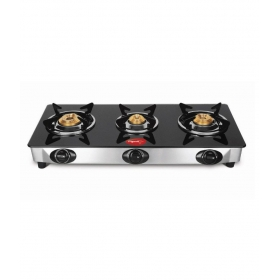 Pigeon Favorite Blackline Cook Top 3 Burner