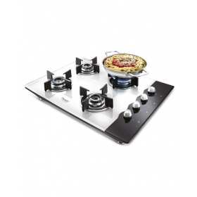 Prestige Pht 04 4 Burner Glass Auto Hob Top