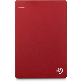 Seagate 2 Tb Wired External Hard Disk Drive With 200 Gb Cloud Storage(red, Mobile Backup Enabled)