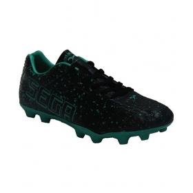 Sega Black Football Shoes