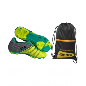 Sega Punch With Shoes Bag Combo Green Football Shoes