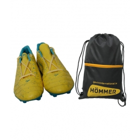Sega Spectra With Shoes Bag Combo Yellow Football Shoes