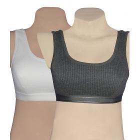 Poly Cotton Thermal Sports Bra