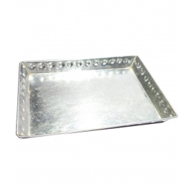 Square Stainless Steel Bar Tray 1 Pcs