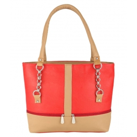 Multi Faux Leather Shoulder Bag