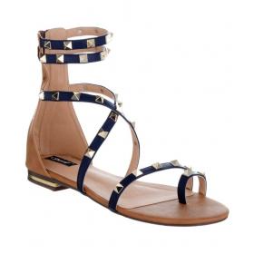 Shoes Blue Flats