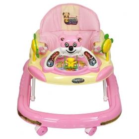 Baby Multicolor Panda Walker