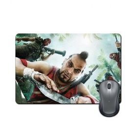 Anti-slip Rubber Base Far Cry Gaming Character Artwork Mouse Pad