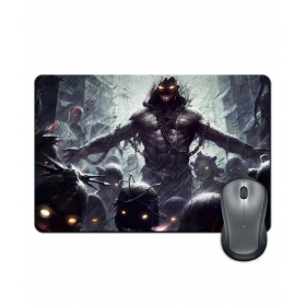 Anti-slip Rubber Base Devil Gaming Design Mouse Pad