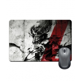 Anti-slip Rubber Base Metal Gear Four Gaming Character Design Mouse Pad