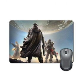 Anti-slip Rubber Base Gaming Battle Characters Mouse Pad