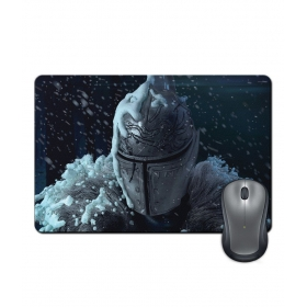 Anti-slip Rubber Base Metal Mask Fantasy Action Gaming Mouse Pad
