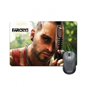 Anti-slip Rubber Base Far Cry Three Gaming Character Artwork Mouse Pad