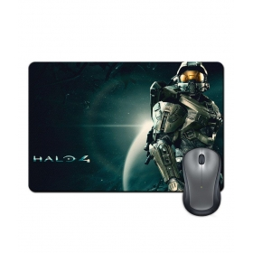 Anti-slip Rubber Base Halo Gaming Action Artwork Mouse Pad
