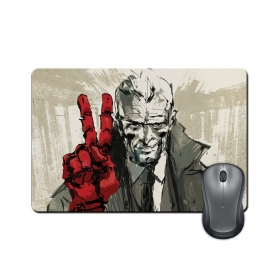 Anti-slip Rubber Base Red Hand Video Gaming Character Mouse Pad