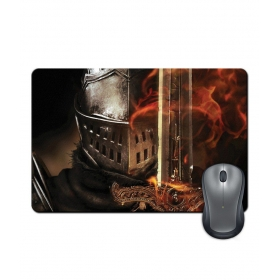 Anti-slip Rubber Base Metal Face Gaming Character Design Mouse Pad