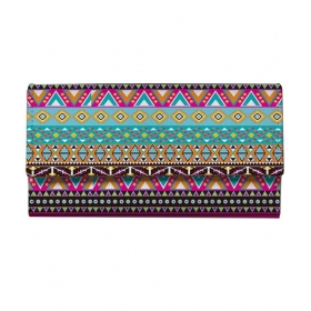 Multicolour Leather Regular Wallet