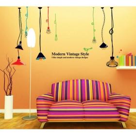 Ay9173 Vintage Bulbs  Modern Wall Sticker  Jaamso Royals