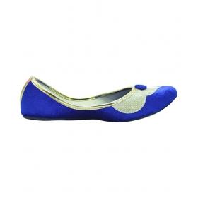 Club Blue Ethnic Footwear