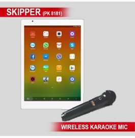 Karaoke Skipper Tablet With 50gm Sliver Coin Free