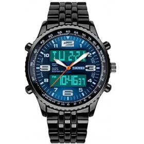 Skmei Black Analog-digital Formal Watch