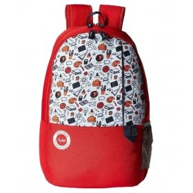 Skybags Mario 01.2 30 L Backpack (red)