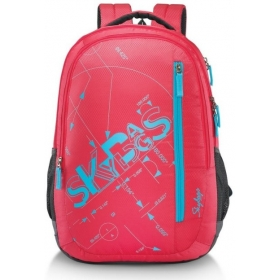 Skybags Pixel Plus 03 32 L Backpack (red)