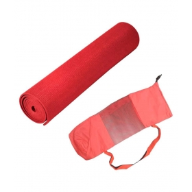 Red Yoga Mat With Bag