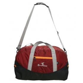 Skyrider Maroon Solid Duffle Bag