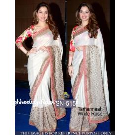 Sas Creations Best Silk White Saree