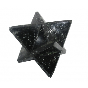 Snowflake Merkaba Star Large Crystal Sacred Geometry Quartz Reiki Point 8 Healing