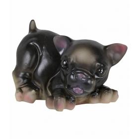 Pets Squezee Toy Black