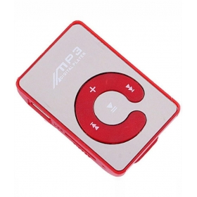 Sonilex Mp15 Hq Shiny Mp3 Players ( Red )