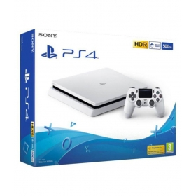 Sony Glacier White Playstation 4 500gb Console