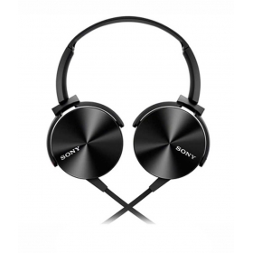 Sony Mdr-xb450/bq(in) On Ear Wired Headphones (black)