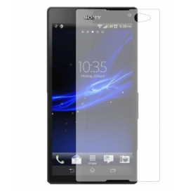 Super Crp Sony Xperia C Screen Guard Clear