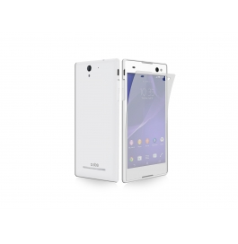 Hie Power Sony Xperia C3 Screen Guard Two Layers Protection