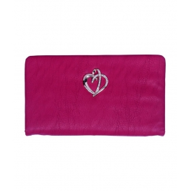 Dil Style Woman Pink Clutch