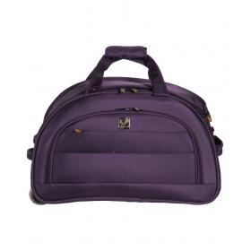 Sprint Purple 2 Wheel Trolly Duffle Bag