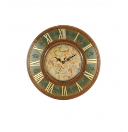 Antique Wall Clock Sq-1425(forest)