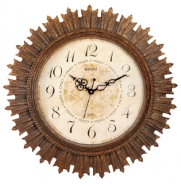 Antique Wall Clock Sq-1818(rust)